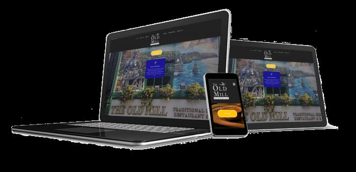 We design & Host websites
