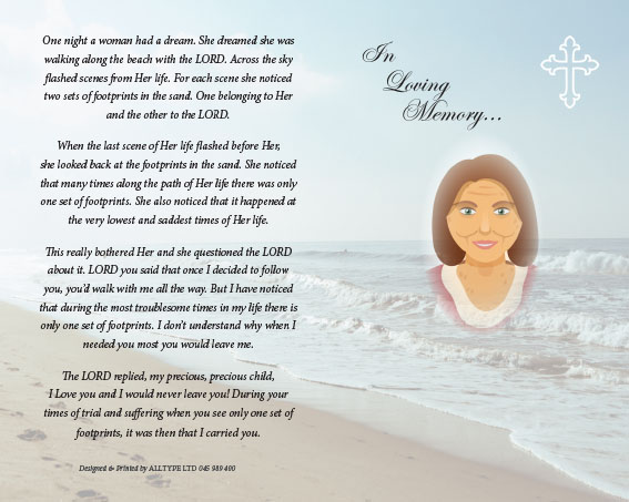 Marie Corcoron Memorial Card-1