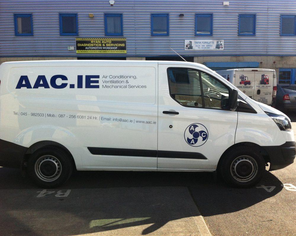 AAC Van graphics