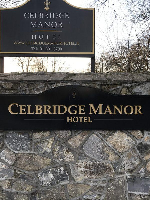 Celbridge Manor Main sign right