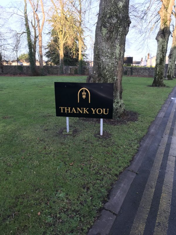 Celbridge Manor Thank You