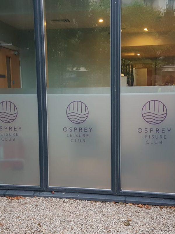 Osprey Frost Windows