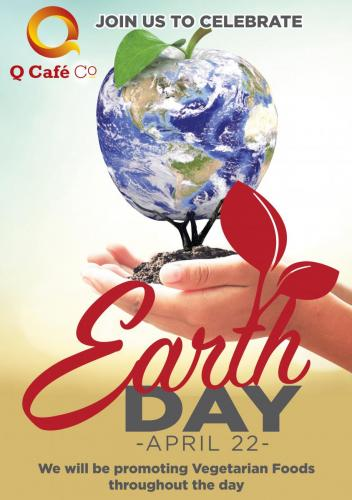 Q CAFE EARTH DAY A2